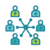 Leverage clinician network
