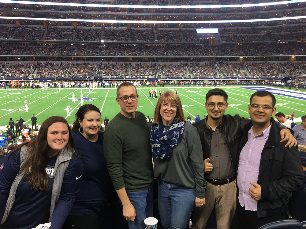 SH at a Cowboys Game